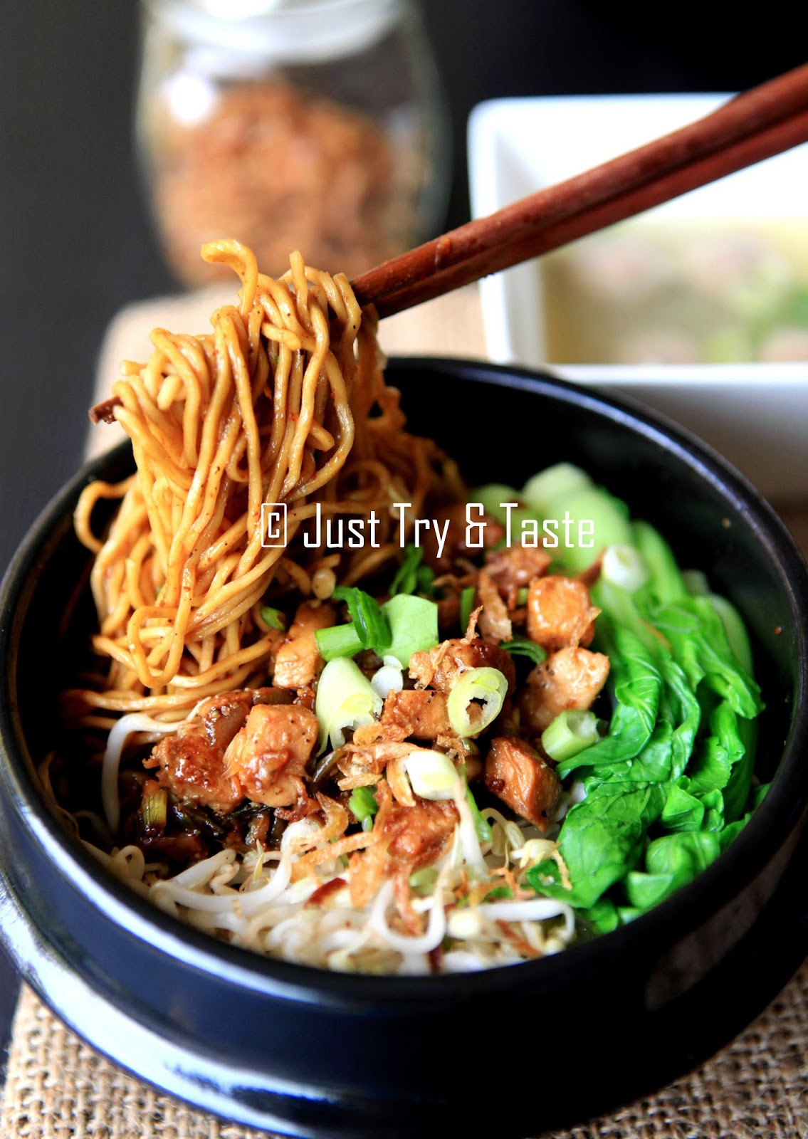 Resep Kuah Mie Ayam : resep, Yamin, Taste
