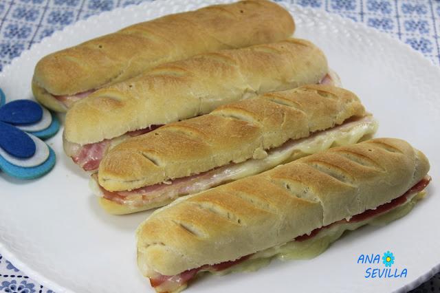 Pan pre-cocinado con Thermomix