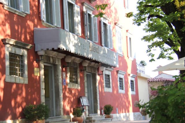 Hotel Kastel in Motovun, Istria