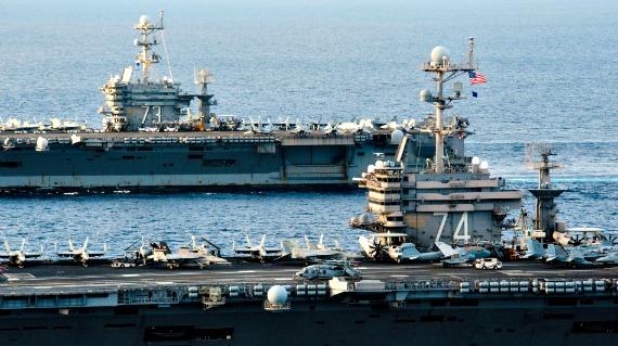 米中激突なら1週間で米軍が制圧 中国艦隊は魚雷の …