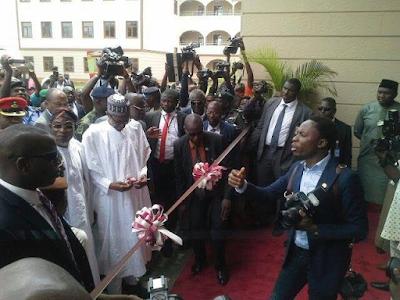 Photos: Pres. Buhari visits Osun state