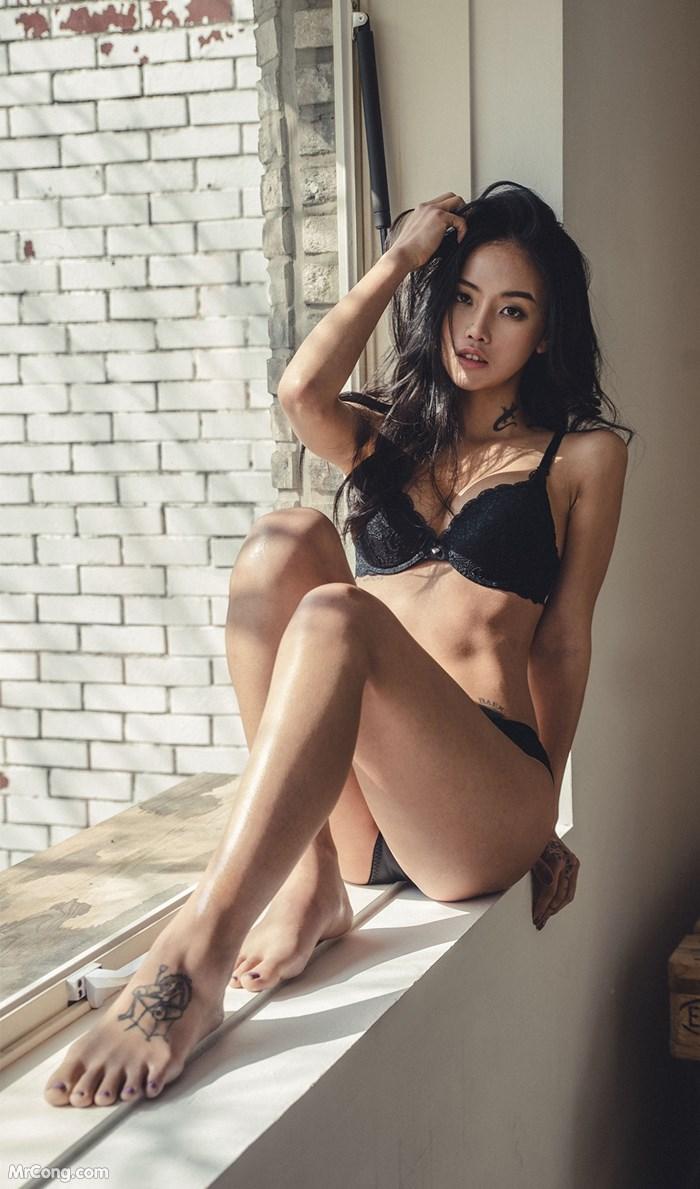 Người đẹp Baek Ye Jin trong bộ ảnh nội y tháng 10/2017 (148 ảnh)