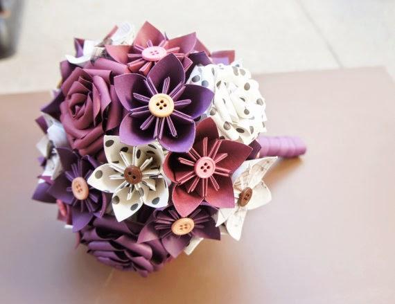 How to make - Kusudama Flower Ball || kusudama flower bouquet ... | 439x570