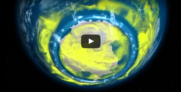 Watch The ozone hole is lastly closing up