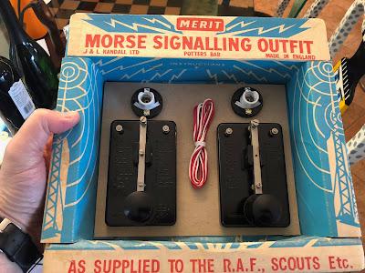 Morse Code Signaling Outfit
