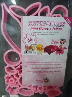 Cortadores para flores e folhas Mago