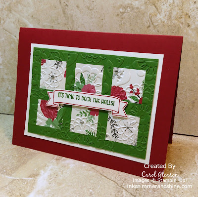 Photo of Deck the Halls card
