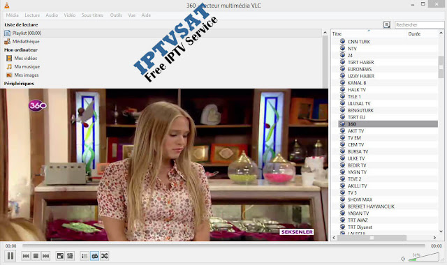 TURKEY M3U IPTV URL PLAYLIST CHANNELS 23/01/2018
