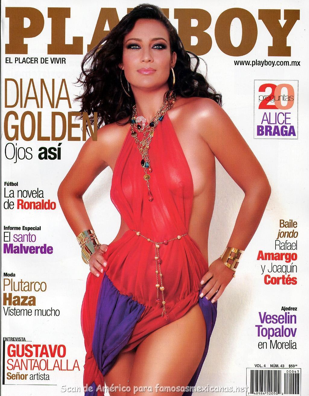 Diana Golden  nackt