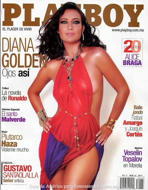 Fotos Diana Golden desnuda para Playboy Mayo 2006
