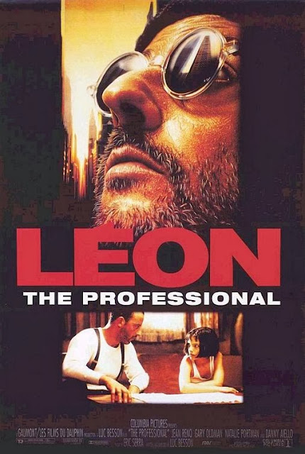 Leon: The Professional (1994), Movie Poster, Directed by Luc Besson, starring Jean Reno, Gary Oldman, Natalie Portman