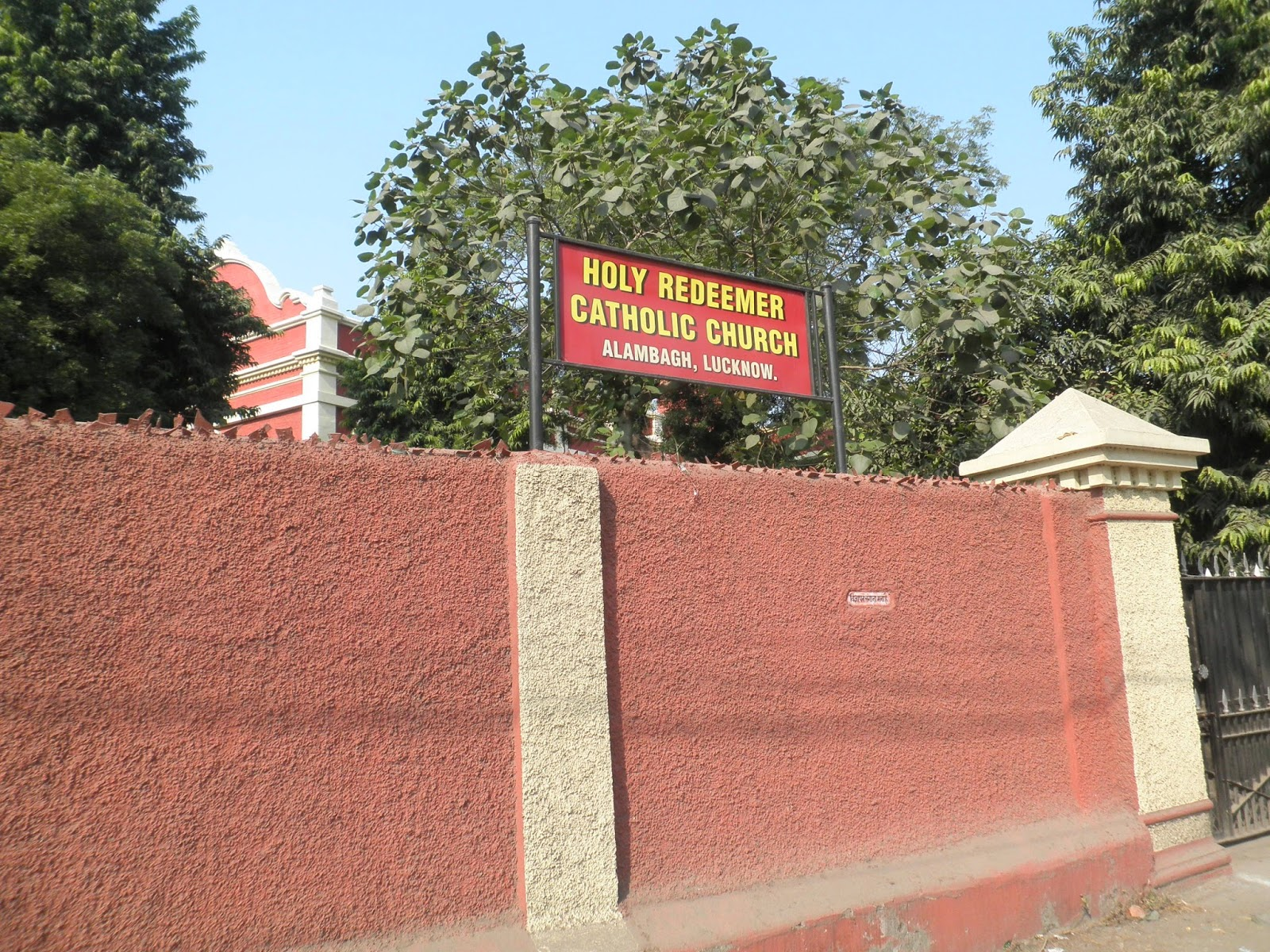 Colonial Lucknow: Holy Redeemer Church (Roman Catholic