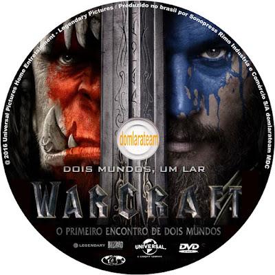 Label DVD Warcraft O Primeiro Encontro De Dois Mundos