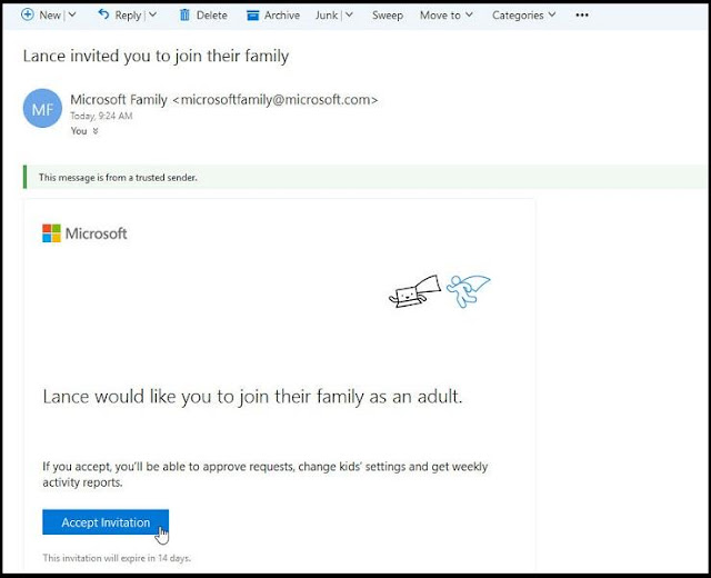 Cara Menggunakan Family Account di Windows 10