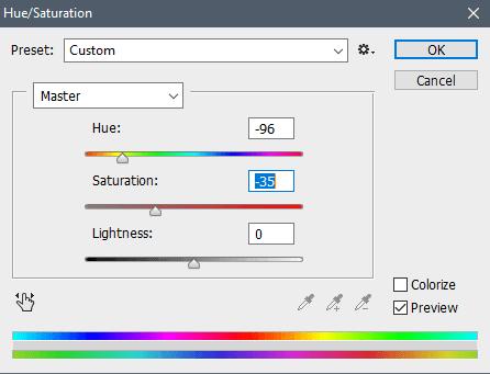 Pengaturan warna