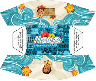 Moana Baby Free Printable Hot Dogs Tray.