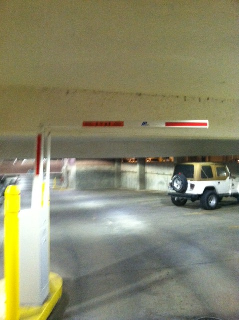 Jennifer's Musings: Free Parking at the 1st Avenue Parking Ramp