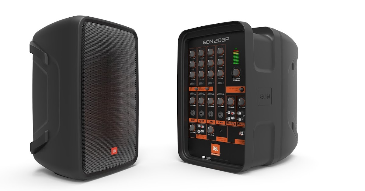 jbl professional by harman introduces new eon208p portable. Black Bedroom Furniture Sets. Home Design Ideas