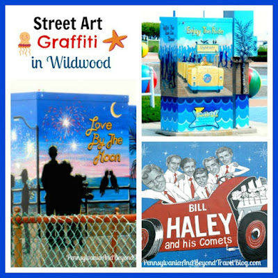 Street Art, Wall Murals and Graffiti in Wildwood New Jersey