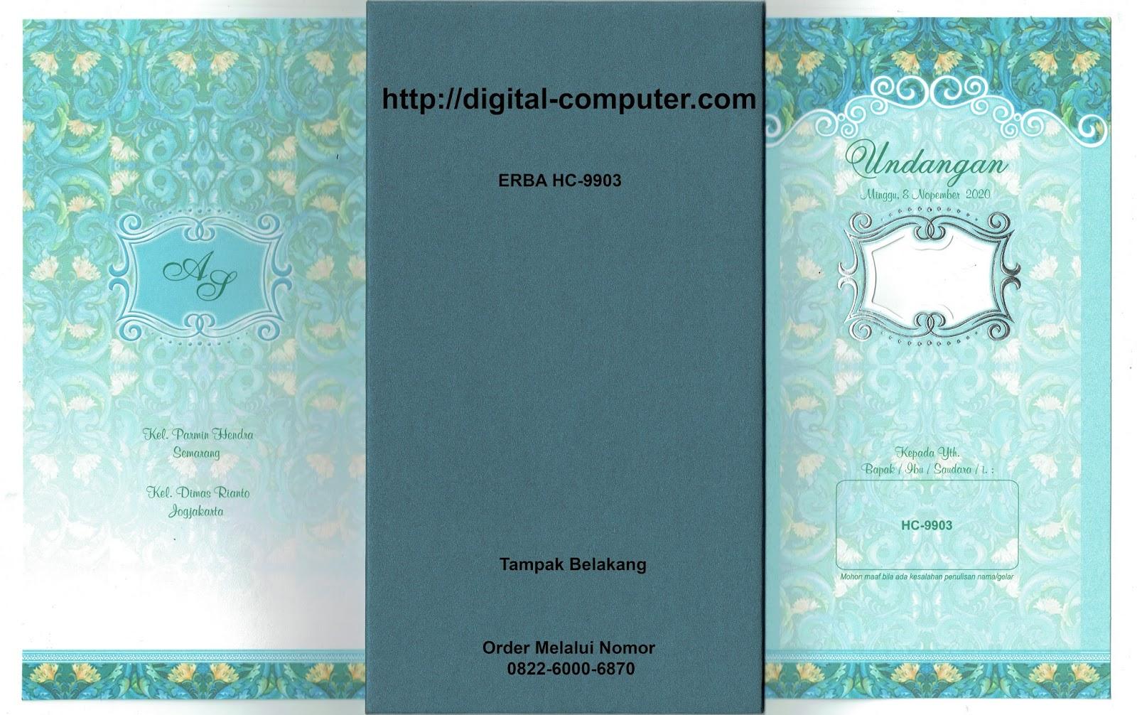undangan hardcover ERBA HC-9903