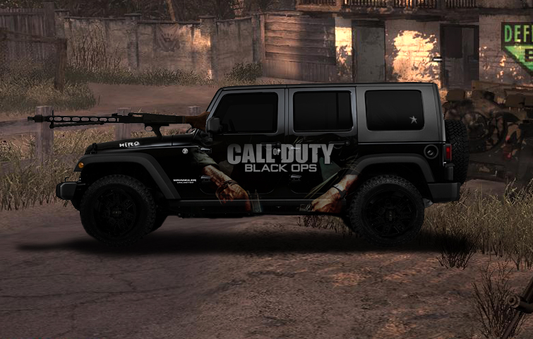Information About Vehicle 2011 Jeep Wrangler Call Of Duty