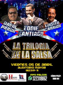 Concierto David Pabón, Eddie Santiago y Luisito Carrión