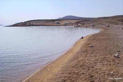spiaggia prnjica isola di pag