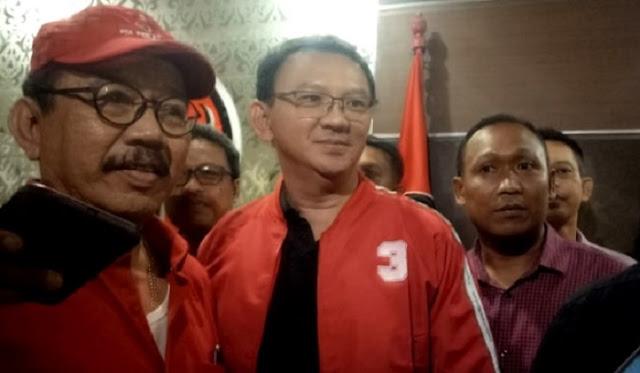 Ahok Resmi Jadi Kader PDIP Sejak 26 Januari 2019