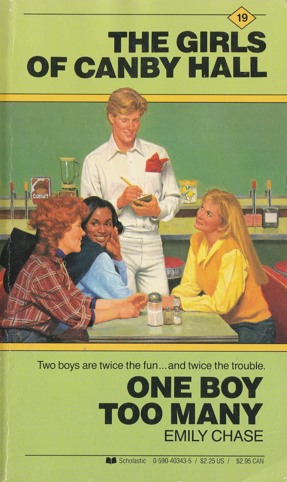 Series Books For Girls Girls Of Canby Hall 19 One Boy