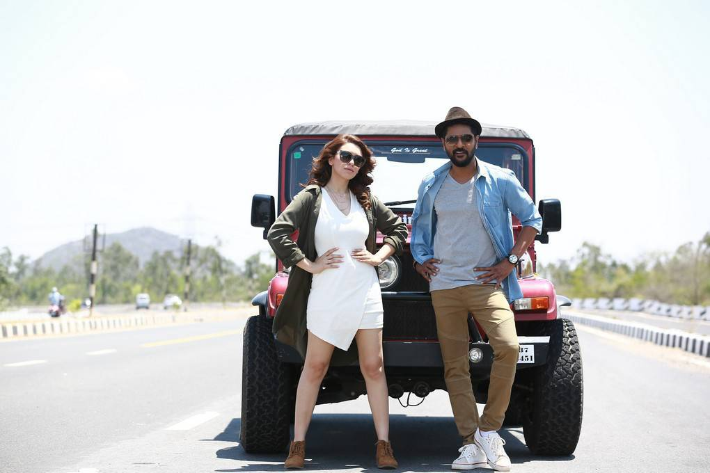Hansika and Prabhu Deva-Gulebagavali Tamil Movie Stills