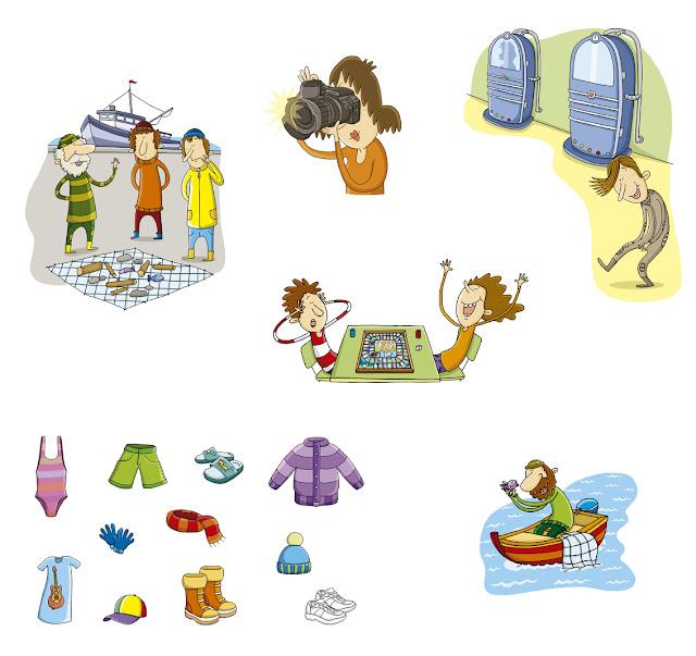 personajes 3, ana sáez del arco, illustration, ilustración