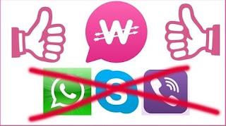 تطبيق wowapp للدردشة وربح المال,منافس الأول للواتساب