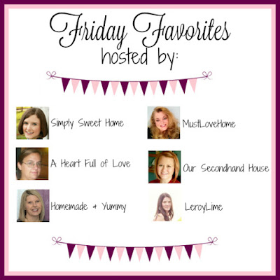 Friday Favorites Linky Party : LeroyLime