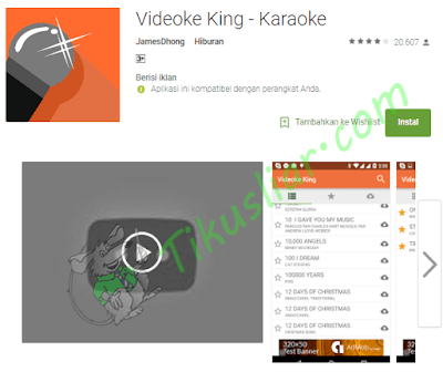 Aplikasi Android Karaoke Offline Gratis