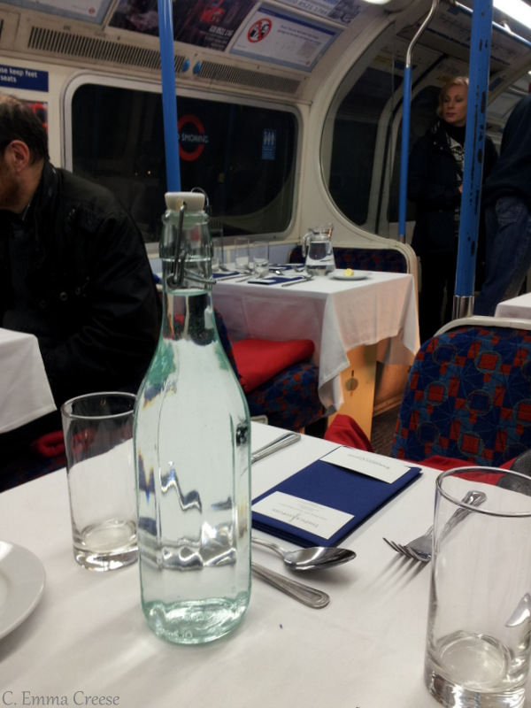 Dinner On The Tube Well Gourmet Dining On An Underground