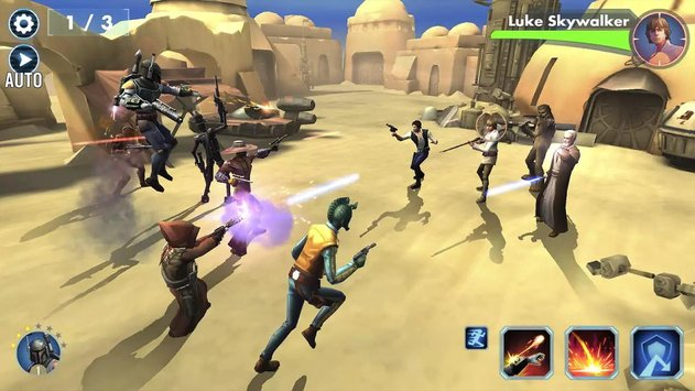 Download Game Star Wars : Galaxy of Heroes V0.8.208604 Apk Mod High Damage For Android 2