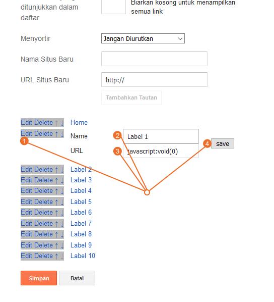Cara Mengubah Header Link