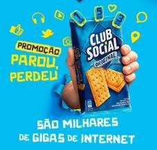 Cadastrar Promoção Parou Perdeu Club Social Crédito Internet Celular