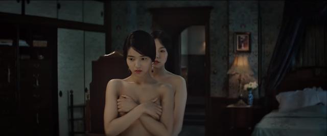 Hodeko et Sookee nues dans Mademoiselle naked Agassi women Handmaiden Park Chan-Wook