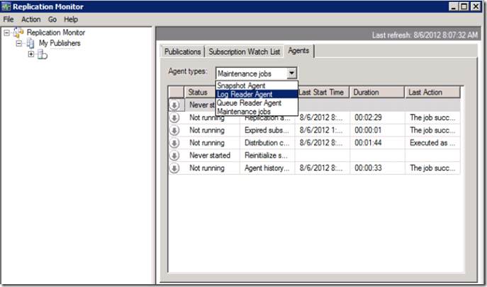 Move Publisher database to another drive without affecting