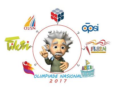 Jadwal Agenda Nasional Peserta Didik OSN, LDBI, NSDC, O2SN, Fiksi, FL2SN, OPSI, dan ARKI 2017
