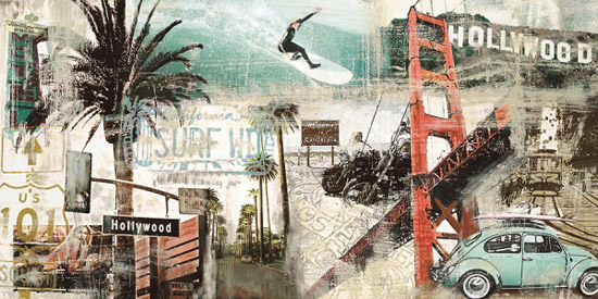 Creative Sketchbook Tyler Burkes Collaged Cityscapes