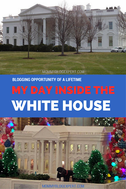 White House Front Lawn with Gingerbread White House Inside