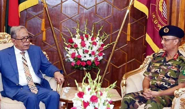 কেনিয়ায় নিযুক্ত বাংলাদেশ হাইকমিশনারের রাষ্ট্রপতির সঙ্গে সাক্ষাত