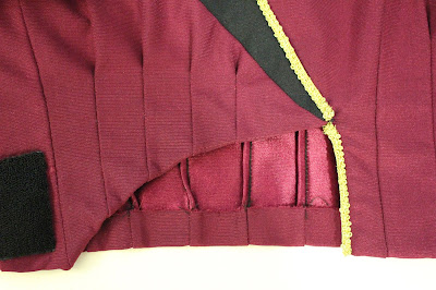 TNG season 1 admiral jacket - lower front