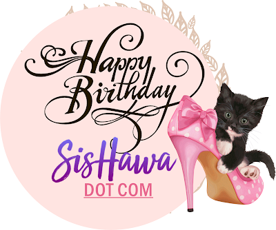 www.sishawa.com, HAPPY BIRTHDAY SISHAWA DOT COM, Giveaway, Blogger,