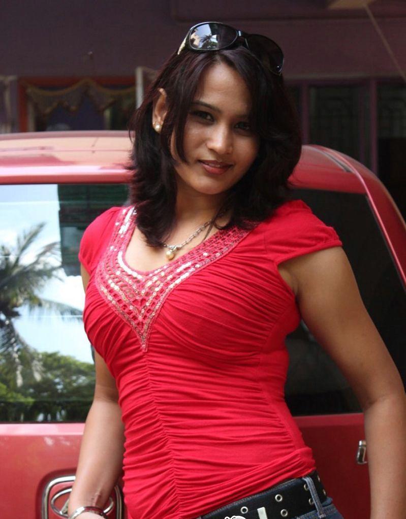 Zita Mariya Hot Stills In Red Shit Wow