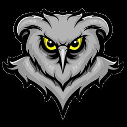 logo burung hantu seram