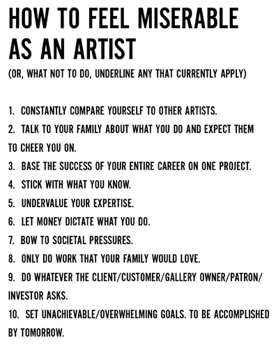 quitting art