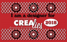 www.all4you-wilma.blogspot.com I am a designer for Crealies 2018